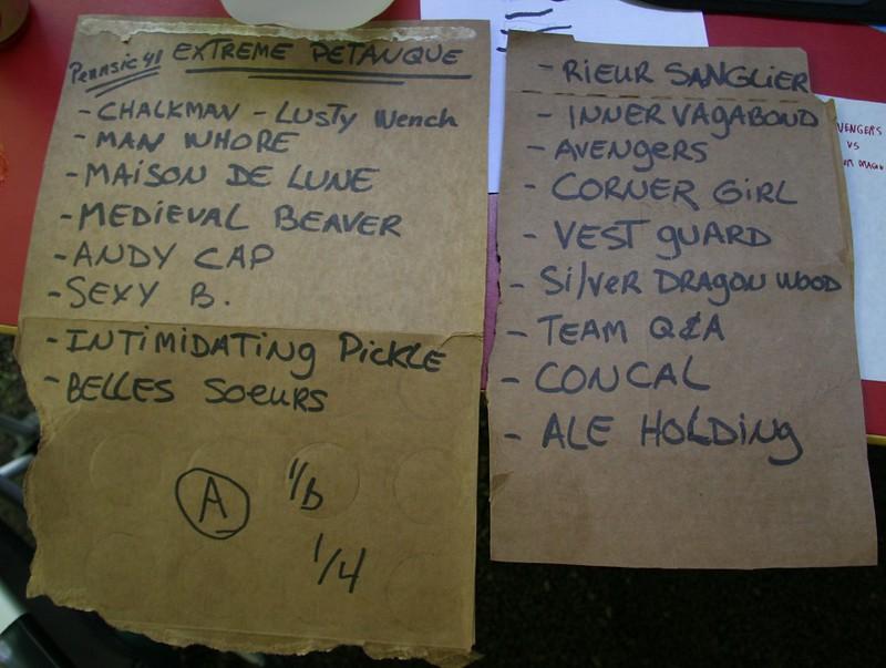 Knowne World Péntanque Tournament