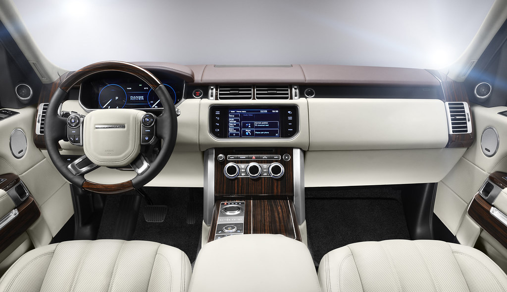 Range Rover Interior >> 2013 Range Rover Interior An Interior View Of The All New