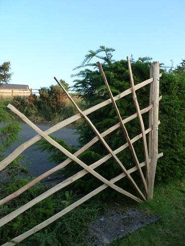 Chestnut Sculpture Trellis | by The Heartwood