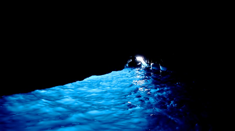 Blue Grotto. Capri Island
