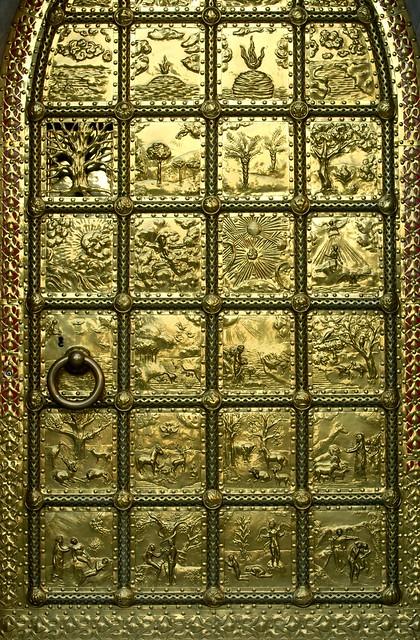 Great Brass Door Details