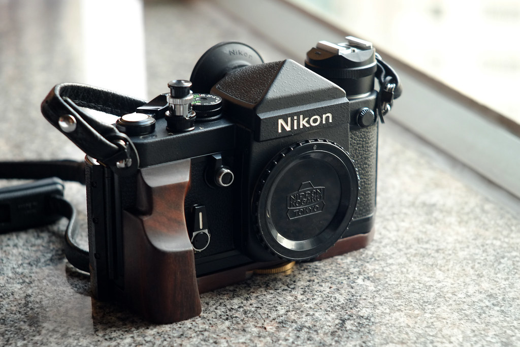 Nikon F2 Titan | My Nikon F2 Titan with custom made wood gri… | Flickr