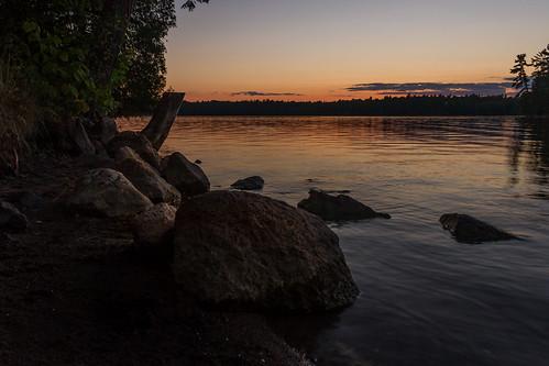 sunset scenery silverlake easternontario lanarkcounty mississippivalleyconservationauthority