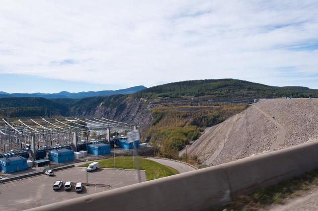 On the WAC Bennett Dam 05