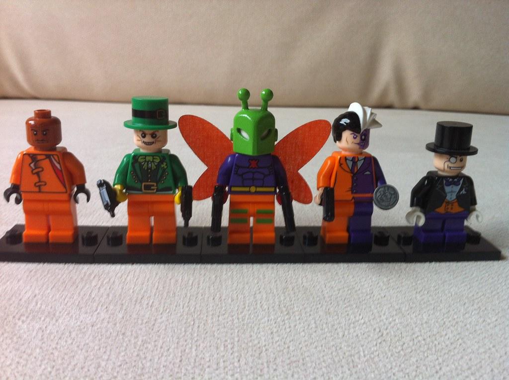 Lego Batman Villains 2 Custom Mad Hatter Killermoth By G Flickr