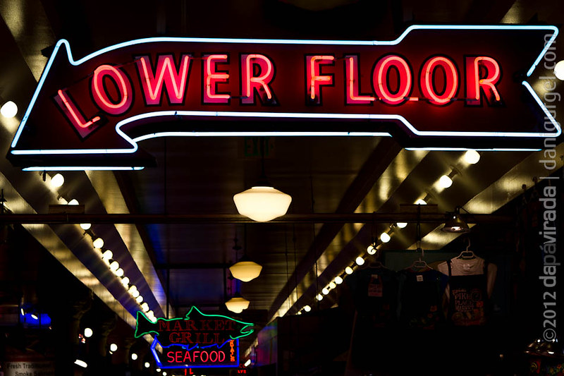 Pike Place Market. Seattle, WA, USA
