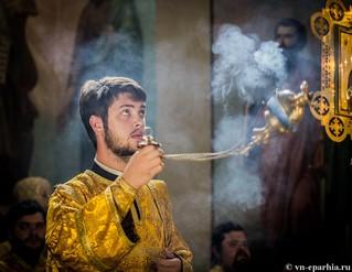 Литургия в Иверском монастыре 115