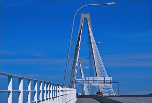 Arthur Ravenel Jr. Bridge -- Charleston (SC) July 2102   by Ron Cogswell