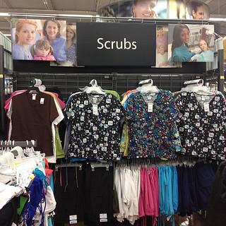 233658a4500 Ummm Scrubs at Walmart ummm ok | The Kiwibok | Flickr