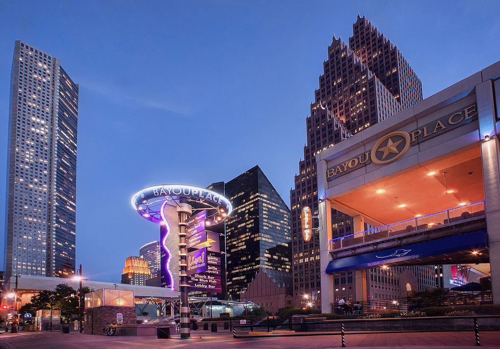 Bayou Place Houston Skyline Downtown HDR | Bayou Place Houst… | Flickr