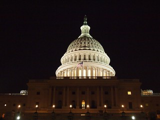 The Capitol by night (Washington DC, USA 2012)