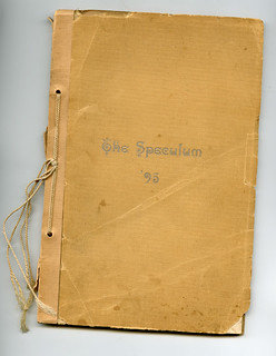 Pomona College's first yearbook - Speculum (1895)