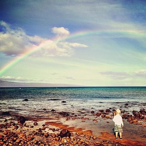 Rainbow this morning