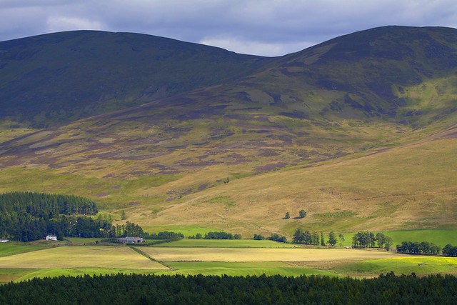 Glen Clova from the Ministers Path