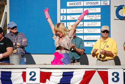 St. Mary's County Oyster Festival, shucking contest (Joe Dunn)