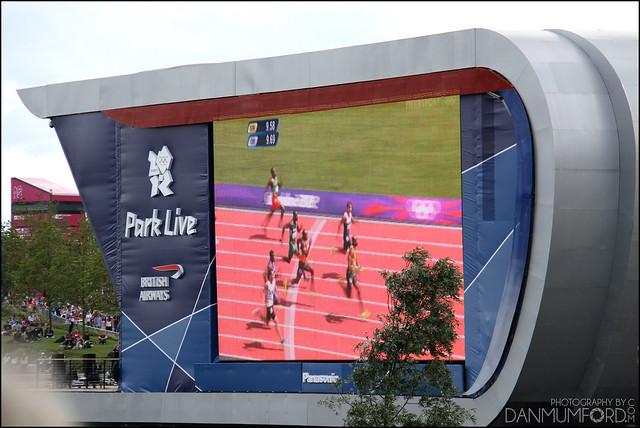 British Airways / Panasonic Park Live Giant Screen