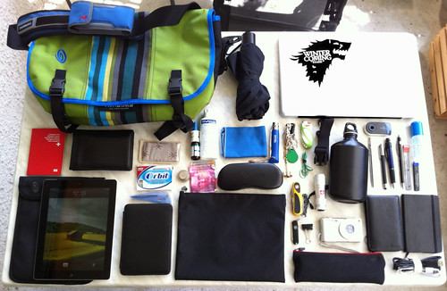What's in my bag August 12, 2012 | by Do8y
