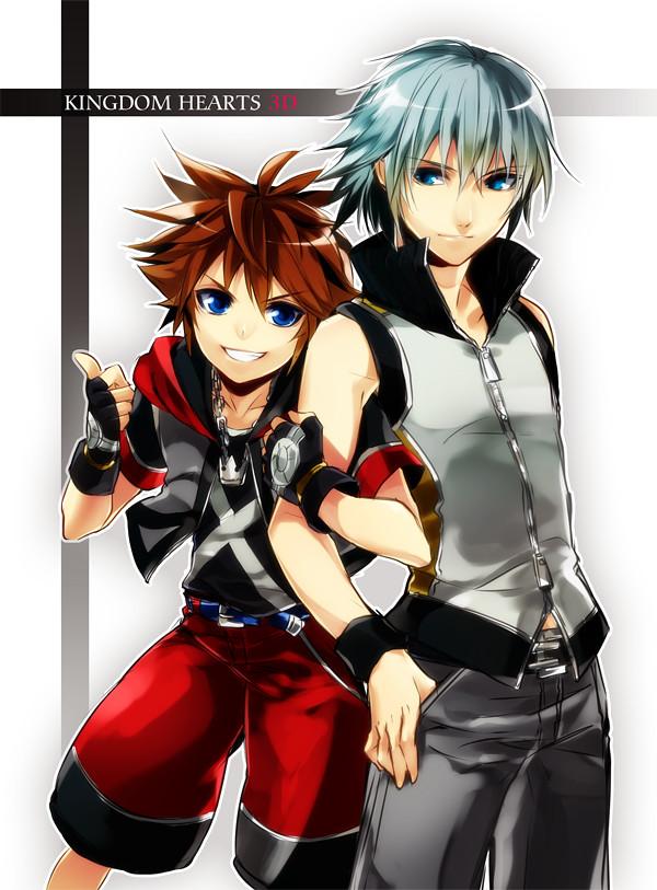 Gay sora and riku