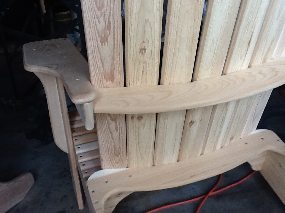Sensational Jakes Chair I Used 3 1 2 In Stainless Screws For The End Download Free Architecture Designs Scobabritishbridgeorg