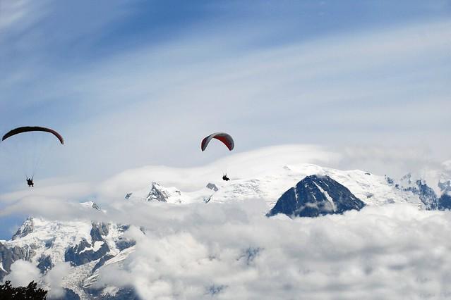 Le Mont Blanc 4810 m Haute Savoie