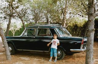 SEAT 1500 BIFARO en la Pinada. Agosto de 1988. | by Galería de fotos de Francisco- Vicente Bonet Sega