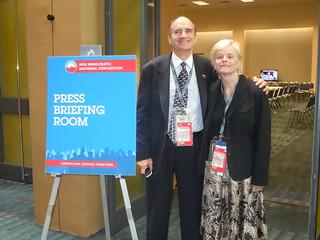 2012 Democratic National Convention Press Briefing Room