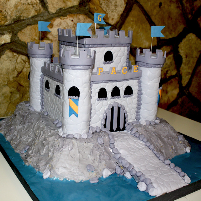 Castle Cake For Boy