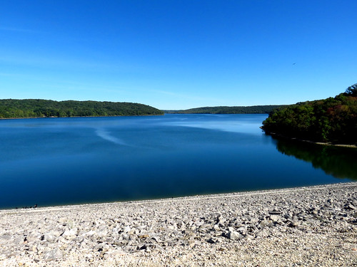 Brookville Lake From Top Of Dam | by brcorbinphotos