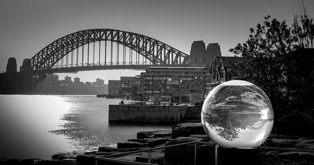 Crystal ball harbour