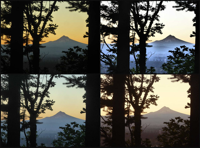 Many Moods of the Mountain