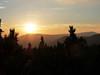 Západ slunce v Krkonoších, foto: Petr Nejedlý