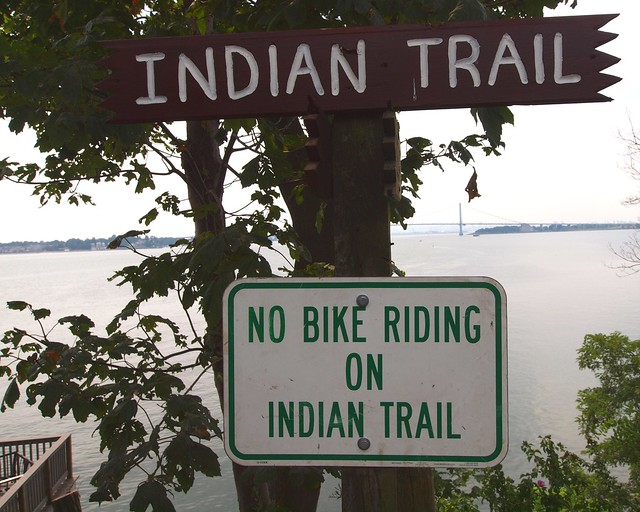 Indian Trail, Silver Beach, Bronx, New York City