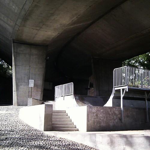 underpass skatepark, Sèvres, FR | by milov
