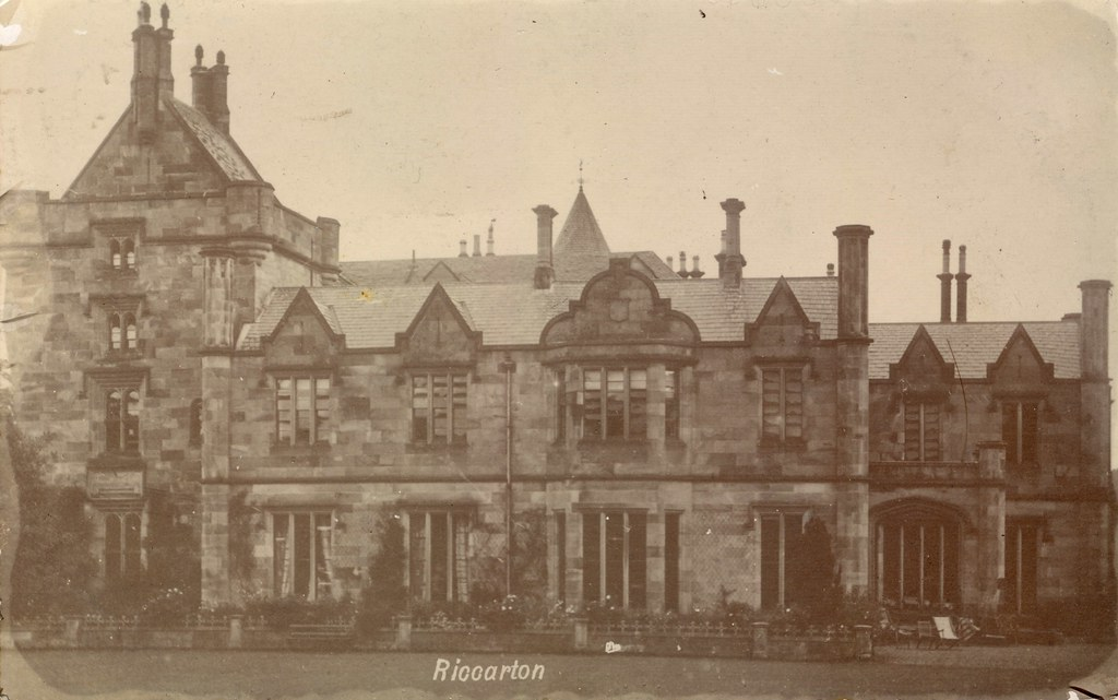 Riccarton House, Edinburgh (c.1904) | Real photo postcard. P… | Flickr