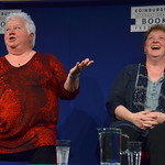 Val McDermid | Val McDermid entertains the Book Festival audience