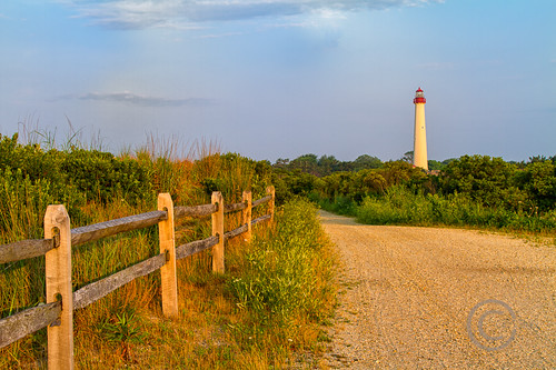 park lighthouse sunrise fence newjersey path dunes earlymorning nj fenceline capemaypointnj carlshaw canon7d endlessreach1 carlsshaw capemaypointlighthousenj