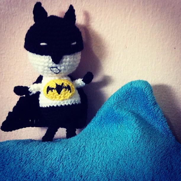 Cute Amigurumi Batman pattern by Joanne Lusher - Ravelry | 612x612