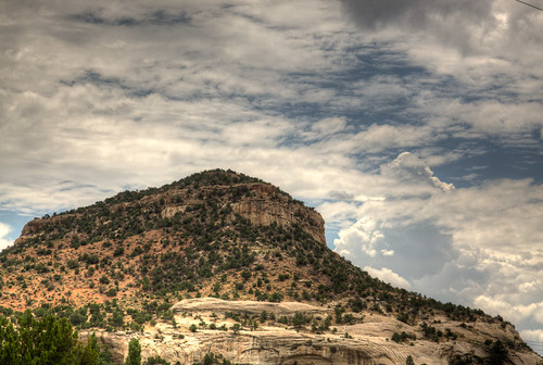sky newmexico unitedstates desert hill gallup