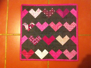 Doll Quilt for Miss H