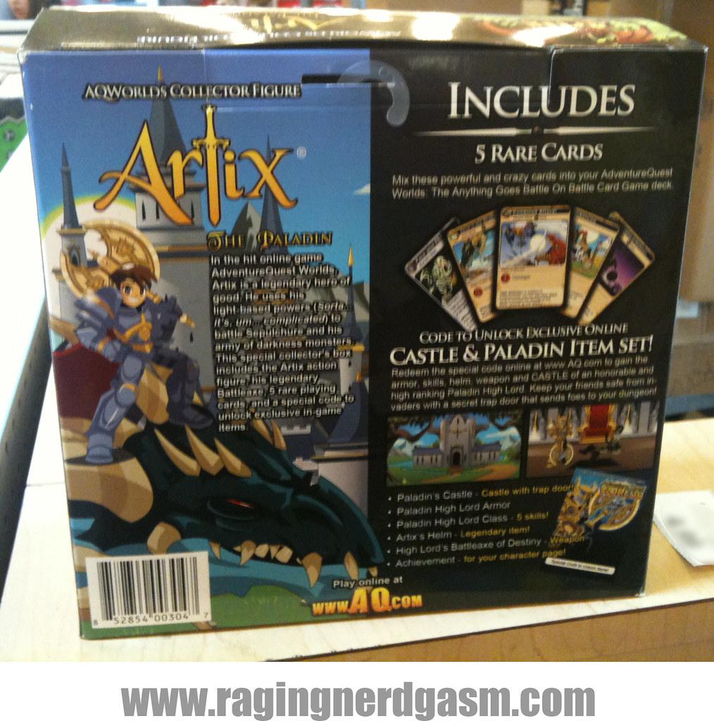 Artix Studios Adventure Quest Worlds Game Figures The Pala
