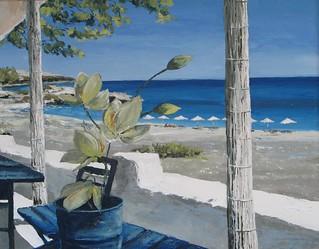 Plaża na Rodos | by mal-art
