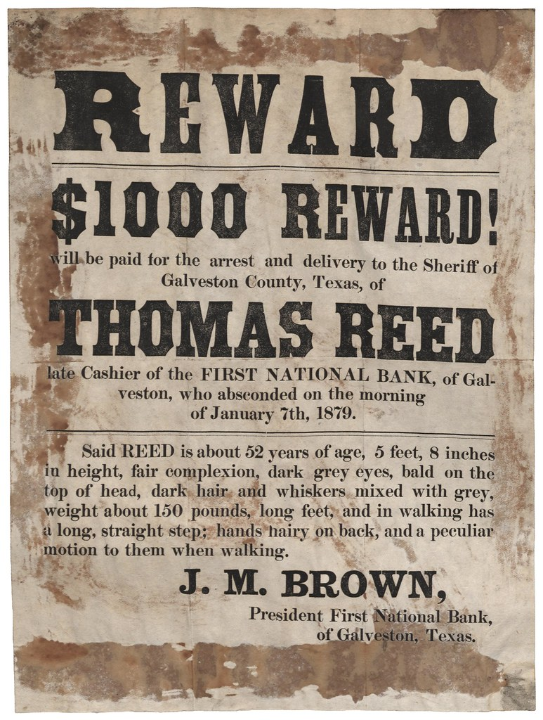 REWARD | $1000 REWARD! will be paid of the arrest and delive… | Flickr