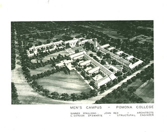 Architectural drawings from 1951 for Helen R. Walker Hall, which was dedicated in 1954.