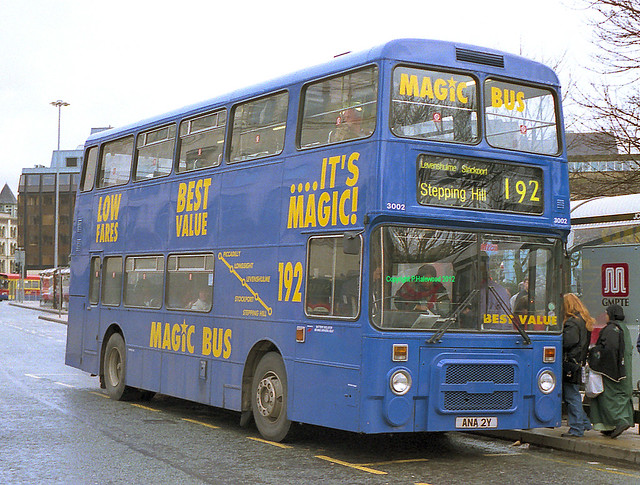 Stagecoach Manchester 3002 (ANA2Y)