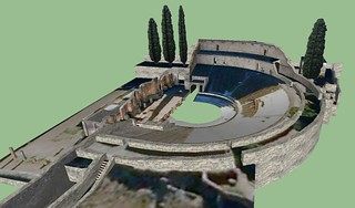 Pompeii - Small Theatre - 3D model | by The Classical World