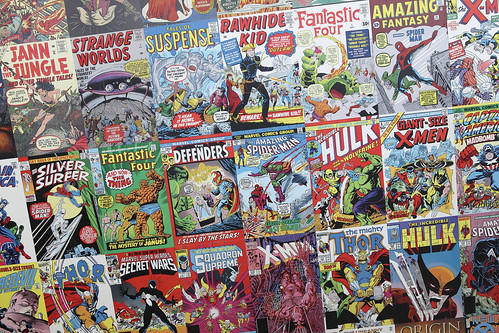 Comic Books | by Sam Howzit