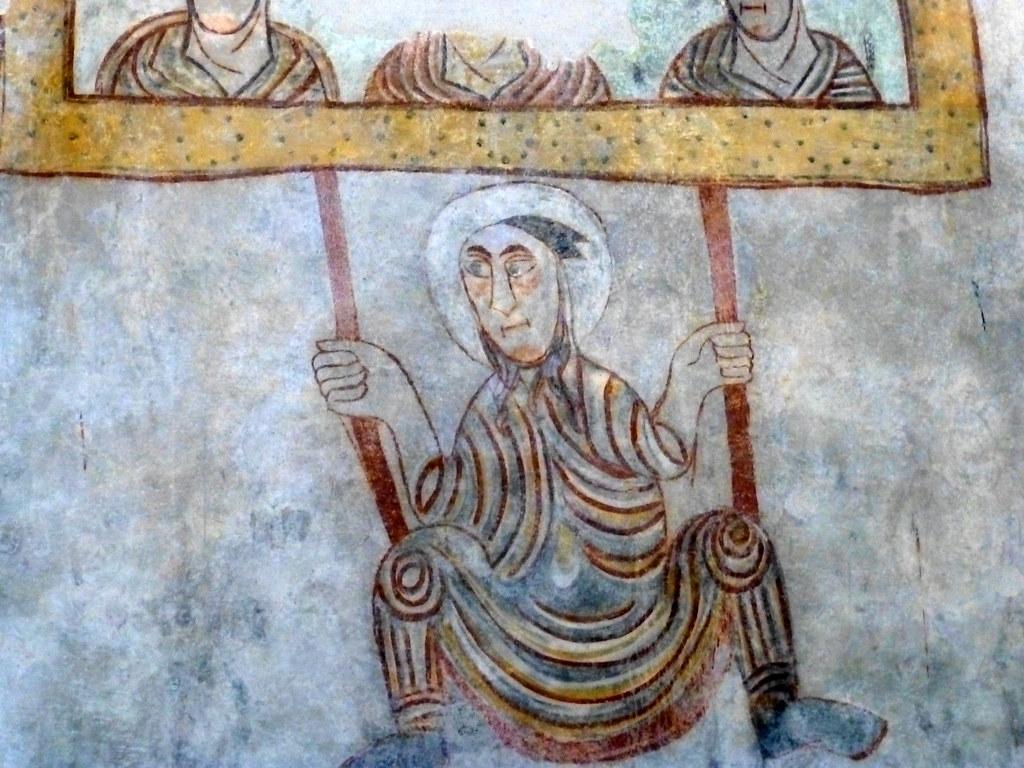 S.PROCOLO NATURNO, parete sud | Gli affreschi della chiesa d… | Flickr