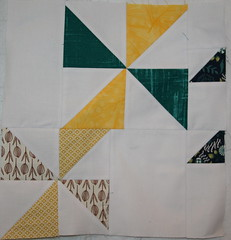 Triangle Blocks - Pinwheels, July