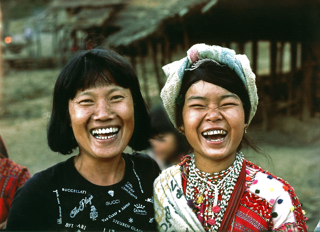 Thai girls  | Two happy thai girls, one from Bangkok and one