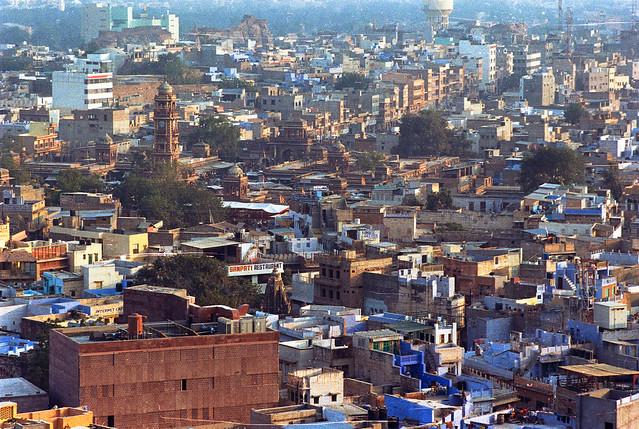 jodhpur - city from above 7